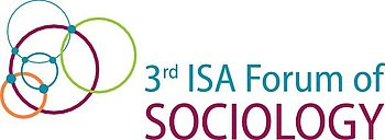 das Logo sagt Third ISA Forum of Sociology